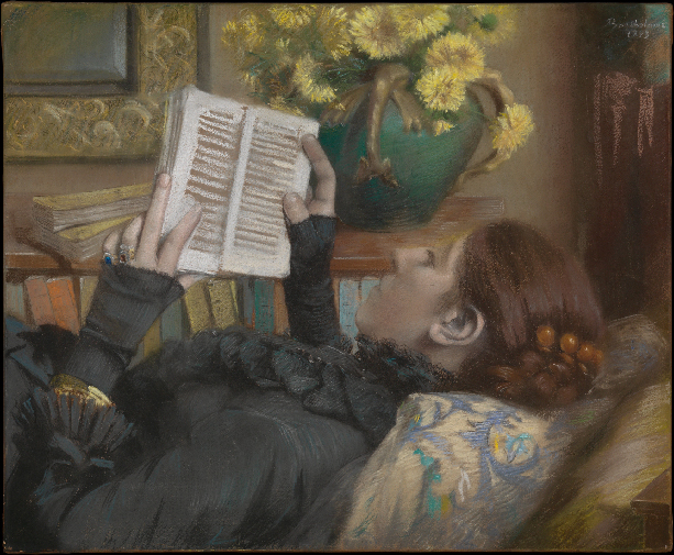 <p>Text by Marcelline Delbecq<br/><br/>For<br/><b><i>The Artist's Wife Reading</i>, 1883<br/>Albert Bartholomé</b><br/><br/>Read by Marcelline Delbecq</p>