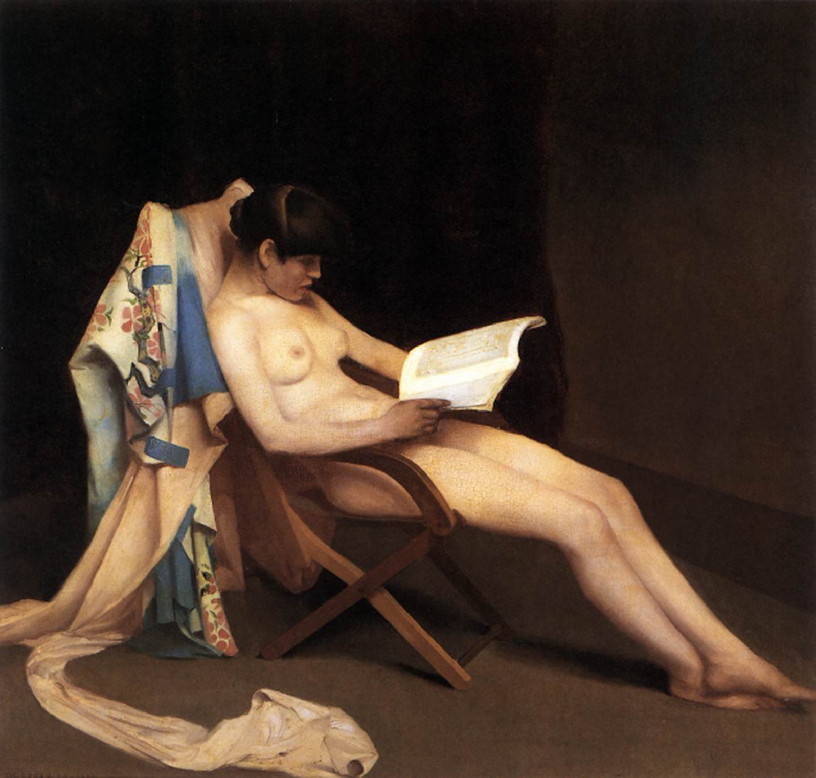<p><b><i>The Reading Girl</i>, 1887<br/>Theodore Roussel</b><br/><br/></p>