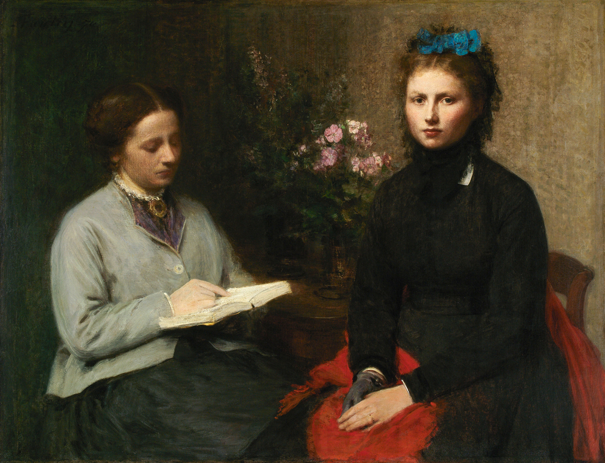 <p><b><i>The Reading</i>, 1870<br/>Henri Fantin-Latour</b><br/><br/></p>