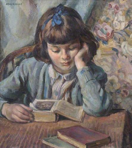 <p><b><i>The Young Reader</i>, 1945<br/>Miguel Mackinlay</b><br/><br/></p>