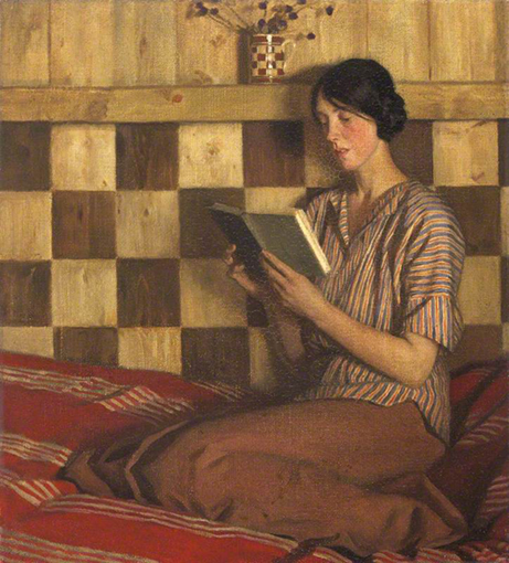 <p><b><i>The Green Book</i>, 1915<br/>Harold Knight</b><br/><br/></p>