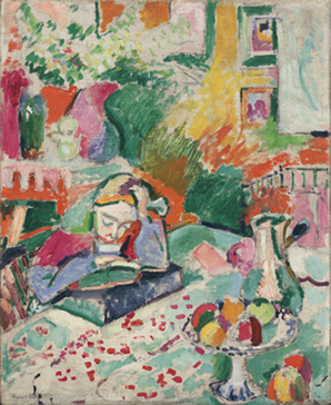 <p><b><i>Interior with a Young Girl</i>, 1905-1906<br/>Henri Matisse</b><br/><br/></p>