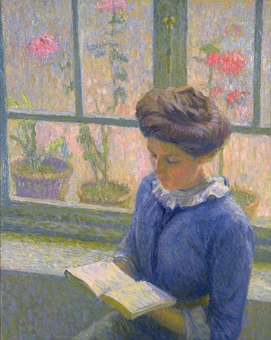 <p><b><i>Reading by the Window</i>, <br/>1908-1913<br/>Kijiro Ota</b><br/><br/></p>